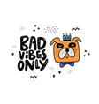 angry dog sticker vector image vector image