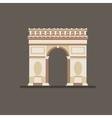 arch triumph vector image vector image