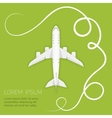 background airlines vector image