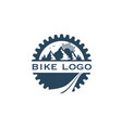 bike-logo2 vector image