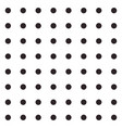 Black and white seamless polka dot pattern
