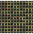 Black crosses pattern vector image vector image
