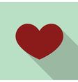 Heart love icon vector image