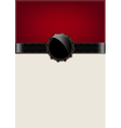 Red abstract vintage card and badge vector image vector image