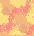 seamless grunge texture with watercolor splashes vector image