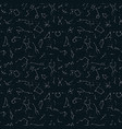 Seamless pattern with zodiac constellations