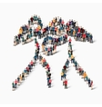 people sports boxing vector image
