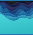 abstract background of color waves vector image vector image