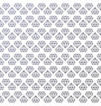beautiful minimalism seamless diamond pattern vector image
