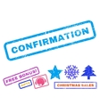 Confirmation Rubber Stamp vector image vector image