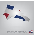 dominican republic vector image