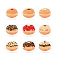 Hanukkah doughnutsTraditional holiday food vector image vector image