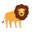 lion cartoon icon vector image vector image
