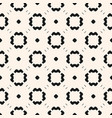 simple minimalist monochrome floral pattern vector image