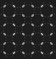 black minimalist seamless pattern vector image vector image
