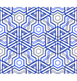 Colorful abstract geometric seamless 3d pattern vector image vector image
