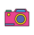 digital camera technology equipment object vector image