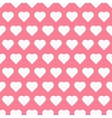 Seamless pattren with hearts vector image vector image
