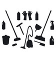 shadows household products vector image