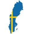 Sweden Flag vector image