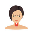 thyroid gland of a woman vector image