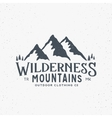 Wilderness Mountains Outdoor Clothing Vintage