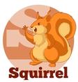 ABC Cartoon Spuirrel2 vector image vector image