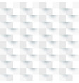 abstract background white and gray square 3d vector image