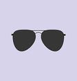 Aviator Glasses Icon vector image vector image