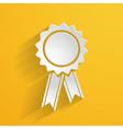 bright 3d emblem vector image vector image