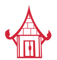 Chinese house vector image