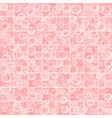 cute wallpaper with bubbles on pink tiled vector image