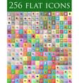 flat icons 12 vector image vector image