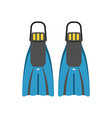 Scuba Diving Flippers vector image vector image