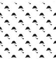 Sherlock Holmes hat and smoking pipe pattern vector image