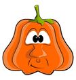 cartoon pumpkin EPS10 vector image