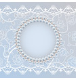 template for wedding greeting or invitation card vector image