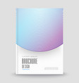 abstract template for covers flyers banners vector image