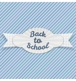 Back to School Sale festive Emblem with Text vector image vector image