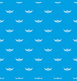 cap beer pattern seamless blue vector image vector image
