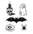 halloween cartoon s vector image vector image