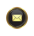 Mail icon on vector image vector image