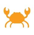ocean animal silhouette design cute cartoon vector image vector image