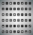 pack universal icons for web or applications vector image vector image