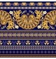Striped egyptian seamless pattern