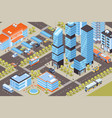 transport isometric vector image vector image