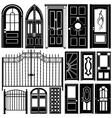 door design vector image vector image