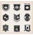 Kitchen badges vector image
