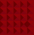 red abstract geometric background vector image vector image