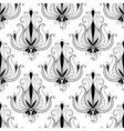 Beautiful floral arabesque seamless pattern vector image vector image